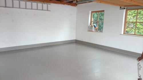 Garagenboden mit 2K-Beschichtung1