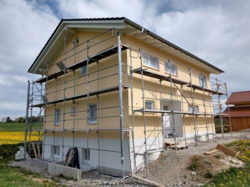 Fassade streichen1