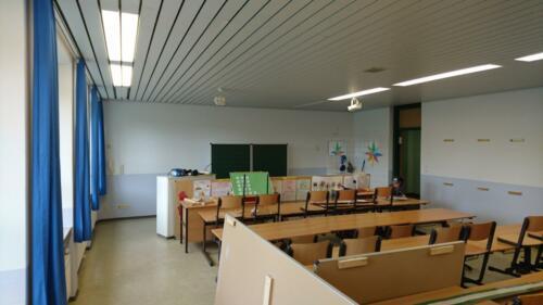 Klassenzimmer streichen