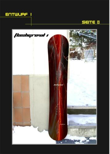 Snowboard-Entwurf