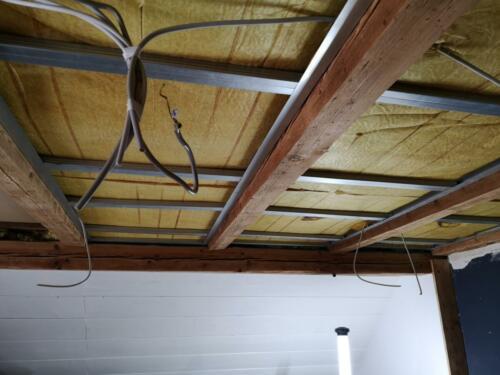 Unterkonstrucktion Trockenbau-Decke